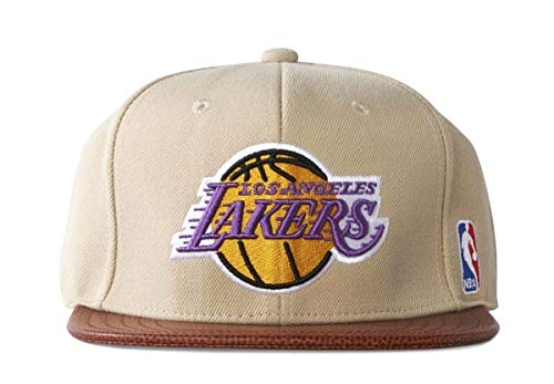 adidas Cap NBA Los Angeles Lakers Basketball - Gorra para Hombre, Color Beige, Talla Talla única