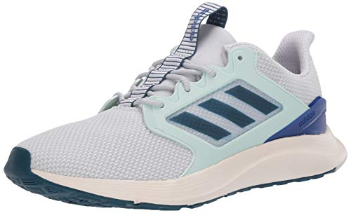 adidas Women's ENERGYFALCON X Sneaker, Dash Grey/tech Mineral/Dash Green, 9.5