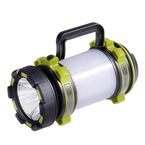 MUTANG Lampe-torche multifonctionnelle rechargeable de la lampe-torche rechargeable LED d'éblouissement extérieur portatif de projecteur de LED