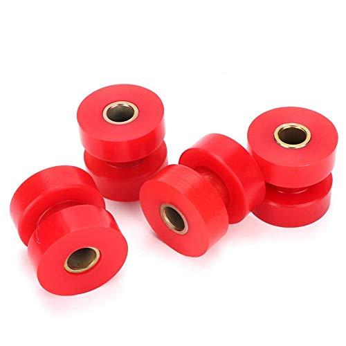 4pcs Energy Suspension Muffler Hanger 90.9053R Exhaust Bushings Kit Red for Peterbilt 357 375 379 385
