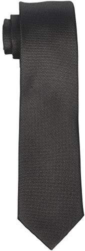 SELECTED HOMME Herren SLHNEW TEXTURE TIE 7CM NOOS B Krawatte, Braun (Demitasse Demitasse), One Size
