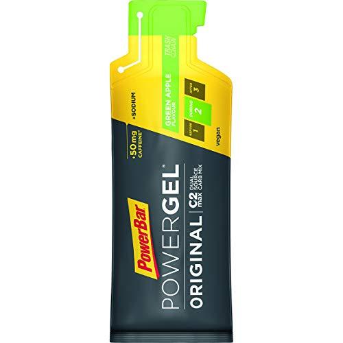 PowerBar Scatola Gel Original 24x41g - Mela verde + Caffeina