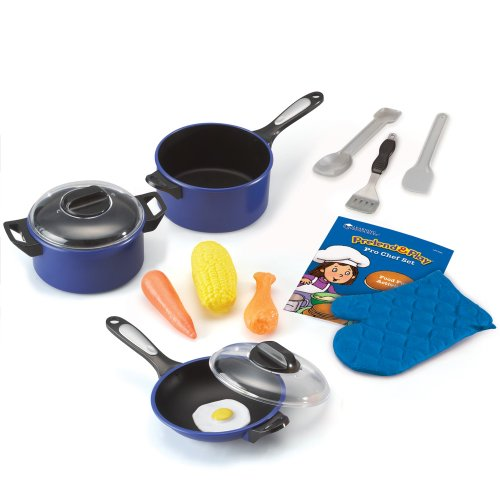 Learning Resources Pro Chef Set, 13 Pieces