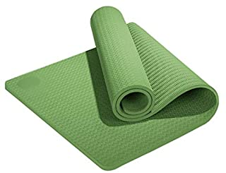 NYKK Exercise Yoga Mat Outdoor Lawn Thickened Cushion Beginner Non-Slip Yoga Mat Flat Support Fitness Yoga Mat Premium Yog...