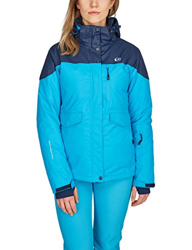 Ultrasport Damen All Seasons 3in1 Multi-funktions-jacke, Türkis/Marine, XL