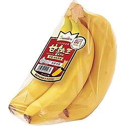 フィリピン産 スミフル バナナの王様 甘熟王 1パック 600g