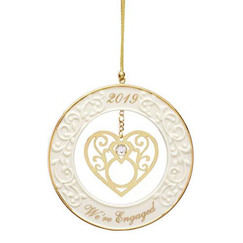 Lenox We Engaged 2019 Gemstone Ornament