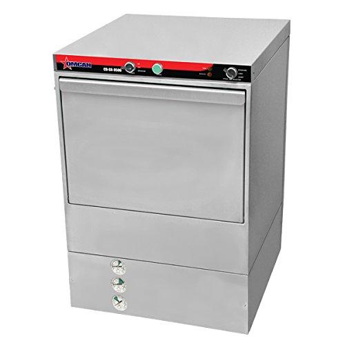 OMCAN 45219 CD-GR-0500 High-Temp Undercounter Commercial Restaurant Dishwasher