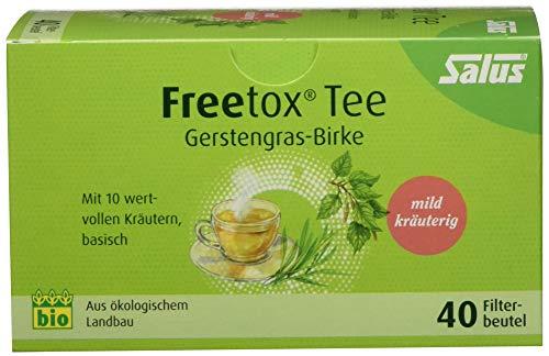 Salus - Freetox - Gerstengras-Birke 40 Teebeutel