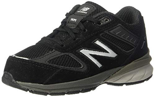 New Balance 990v5, Zapatillas, Negro Plateado, 28.5 EU