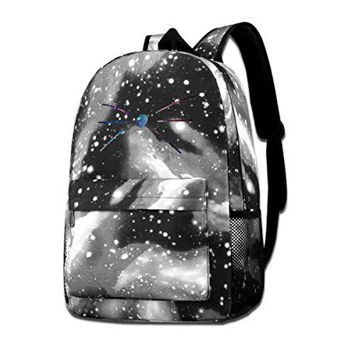 JuaoHuan Dan and Phil Durable Backpack Travel Backpacks Bookbag Men and Women Backpack Gray