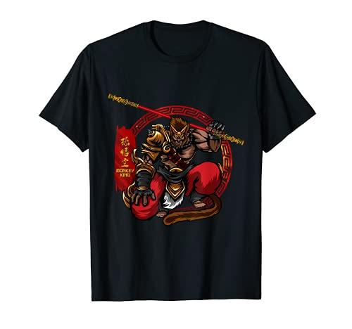 Monkey King Sun Wukong Ancient Chinese Mythology Gods T-Shirt