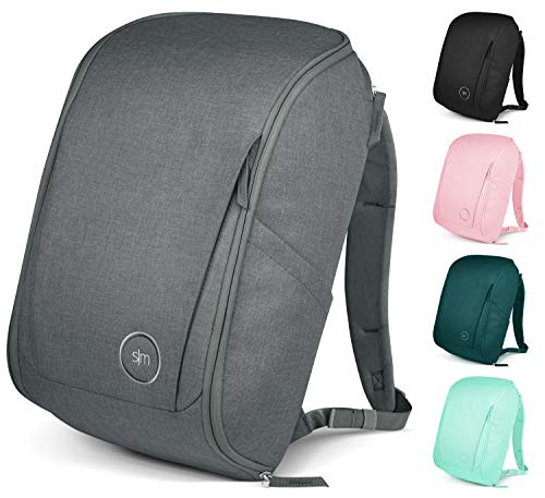Simple Modern Wanderer Backpack with Laptop Compartment Sleeve - 25L Travel Bag for Men & Women College Work School: Slate