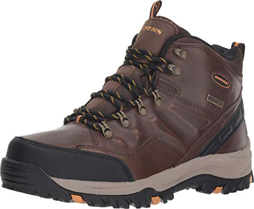 Skechers Relaxed Fit Resment Traven Dark Brown 12