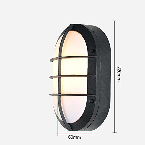JJZHG wandlamp binnen wandlamp buiten wandlamp stofdicht en waterdicht led plafond lamp badkamer keuken gangpad balkon, kleine wandlamp 02 omvat: wandlampen, wandlamp binnen