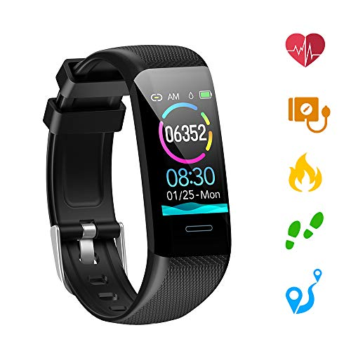 bon comparatif Kolaura Fitness Tracker, bracelet de suivi d'activité étanche avec moniteur de fréquence… un avis de 2021