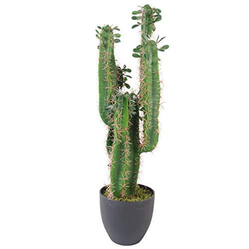 Hoja 75 cm Premium Cactus Artificial con Olla