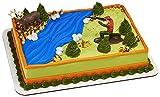 Decopac Deer Hunting Cake Decorating Set Multi, Deer 3.1' x 1.35' x 3.1'; Hunter 3.4' x 1.35' x 2.65'