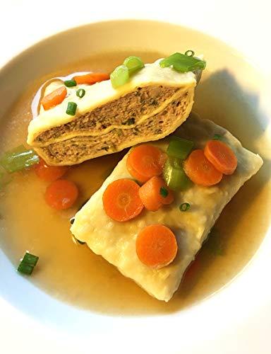Metzgerei Walz – Traditionell schwäbische Maultaschen, mit 55% Fleisch, kräftig gewürzt - 1,2 kg