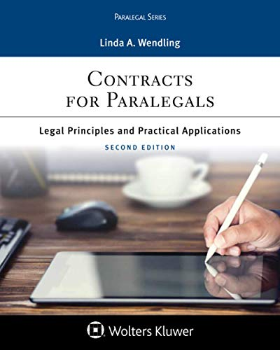 Compare Textbook Prices for Contracts for Paralegals: Legal Principles and Practical Applications for Paralegals Aspen Paralegal Series  ISBN 9781454869153 by Wendling, Linda A.
