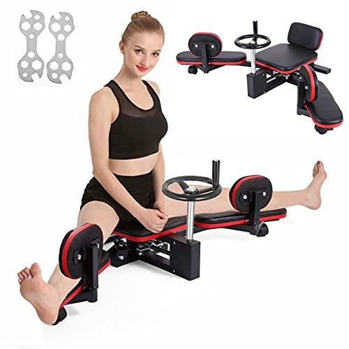Kuhxz Leg Stretcher Heavy Duty 330LBS Leg Stretch Machine Improve Leg Flexibility Leg Stretching Training Machine for Home Gym Split Machine Fitness,Muscle Lift Machine, Dance Leg Step Training