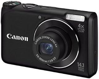 Canon PowerShot A2200 Digitalkamera (14,1 MP, 4 fach opt, Zoom, 6,9cm (2,7 Zoll) Display) schwarz