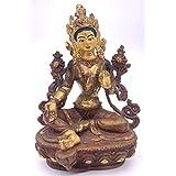 グリーンタ-ラ(緑多羅菩薩)像仏教 チベット-SSA コレクション。