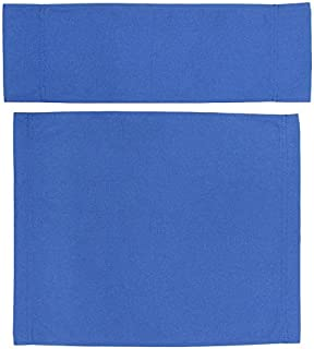 Upone Replacement Cover Canvas for Directors Chairs Casual Home Director Chair Replacement Canvas, Black, Red, White, Gray,Blue (Blue)