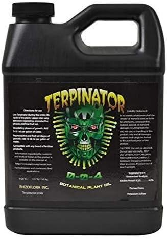 Terpinator RZF10010 1L Fertilizer Nutrient 1 Quart 0 946 Liters Brown product image