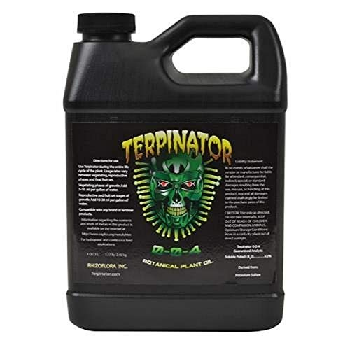 Terpinator RZF10010, 1L Fertilizer Nutrient, (1 Quart/0.946 Liters) Brown