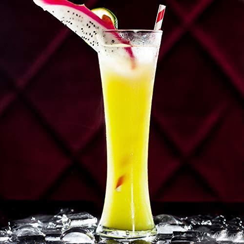 Creatieve glazen beker, sap beker, drinken beker, taille beker, koud drinken beker, melk thee beker, ijs milkshake beker, hoge temperatuur bestendig