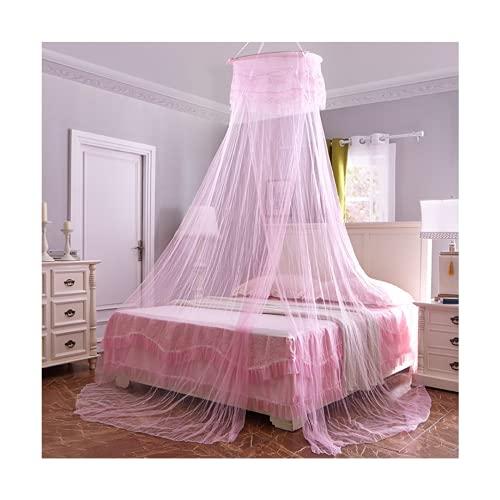 Msoah Mosquitera Cama, Mosquiteras Ligeras para Viaje, Cama De Matrimonio, Cama Individual, Cunas O Cama para Infantil contra Mosquitos Y Insectos Instalacion Simple