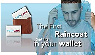THE SV STYLE Emergency Waterproof Rain Poncho with Drawstring Hood Pocket Raincoat (Multicolour)