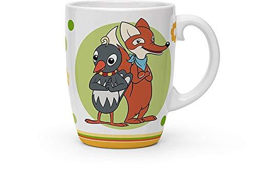 Trötsch Unser Sandmännchen Kindertasse Fuchs und Elster: Kaffeetasse Teetasse Geschenkidee Geschenk Kindertasse