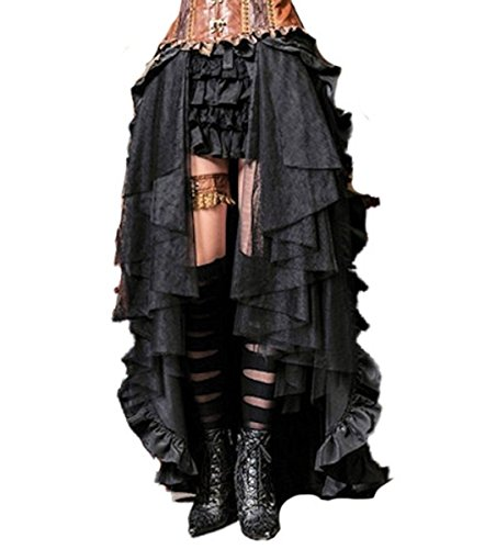 Dark Dreams Gothic Mittelalter LARP Rock Black Mamba - 2