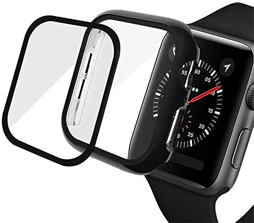 ご注意バイソン定常カバー付きバンパー適合Apple Watch Series 5 / Series 4 Case 40mm Accessories Slim Guard Protectorに対応薄型バンパーフルカバレッジハードカバーディフェンスエッジ適合iwatch 4/5用
