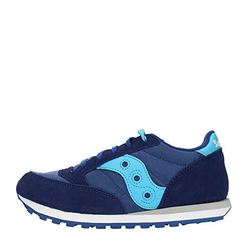 Sneakers SAUCONY JAZZ ORIGINAL BLU Bambino Scarpe Ragazzo SK260999