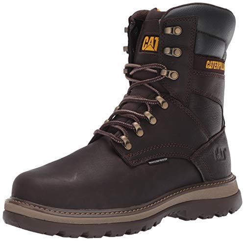Caterpillar Fairbanks WP ST Men's Industrial/Construction Boots, Mulch, 8.5 Wide