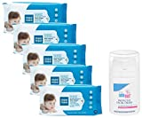 Product 1: Thoroughly cleanses baby's delicate skin; Ideal For: Boys, Girls Product 1: Made of spun lace, non woven material Product 1: Enriched with aloe vera extracts that give a cooling and soothing effect to baby's skin Product 1: Non-toxic and h...