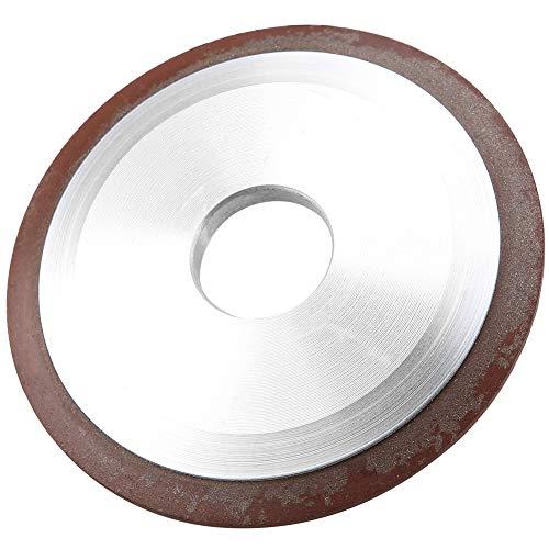 Muela abrasiva de diamante, resistente al desgaste Rueda de diamante que afila los bordes ininterrumpidos duraderos para acero duro para cuchillos de aleación