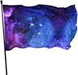 Oaqueen Banderas, Seasonal Galaxy Star Garden Flag, Game Flag - 3 X 5 Ft