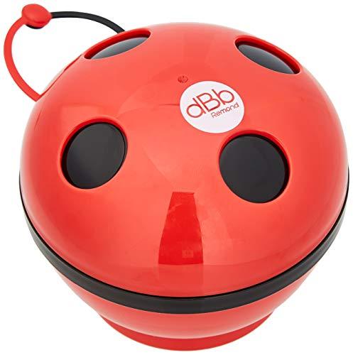 DBB Remond Cocci - Porta chupete con forma de mariquita-color: Rojo/Negro