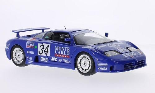Bugatti EB 110 Super Sport, No.34, 24h Le Mans, 1994, voiture miniature, Miniature déjà montée, Bburago 1:18
