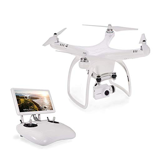 UPair One Quadcopter Drone with 2.7K HD Camera 7 inch FPV Screen Live Video with Altitude Hold,...
