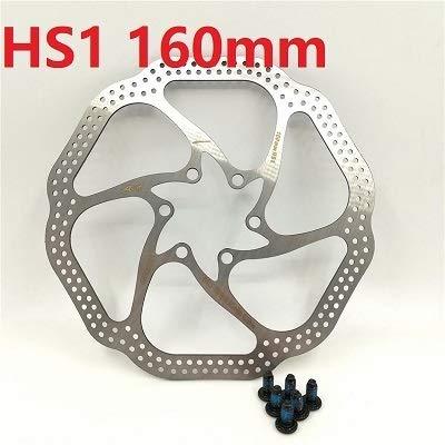 HGYIN-Disc brake Bicicleta Bicicleta Rotor de Freno de Disco 160 mm 180...