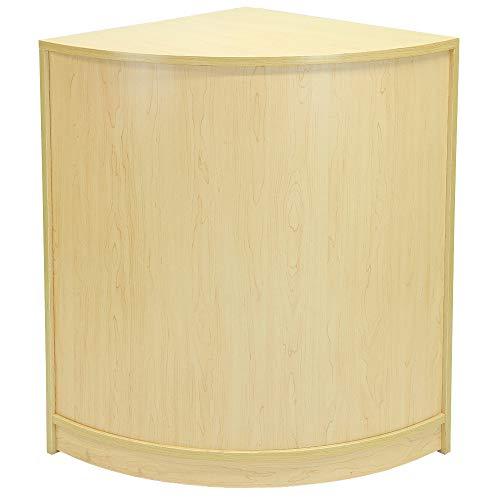 MonsterShop - CM60 Mostradores Mesas de Recepción mueble Oficina Mostradores Peluqueria Comercial Expositor| Acabado en Arce | 120cm (anchura) x 60cm (profundidad) x 90cm (altura)