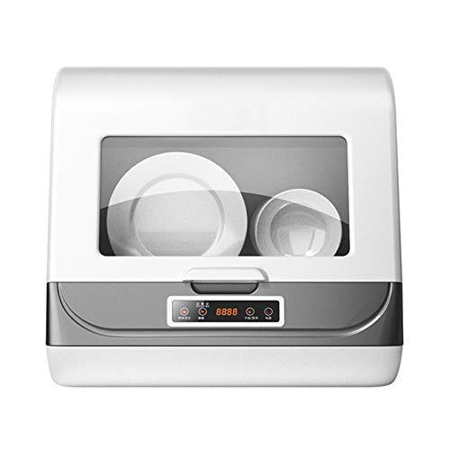 Red tide Lave-Vaisselle Automatique Domestique Intelligent, Lave-Vaisselle de Bureau sans Installation, rinçage à 360 °, stérilisation Haute température 70 ° C Mini Grande capacité