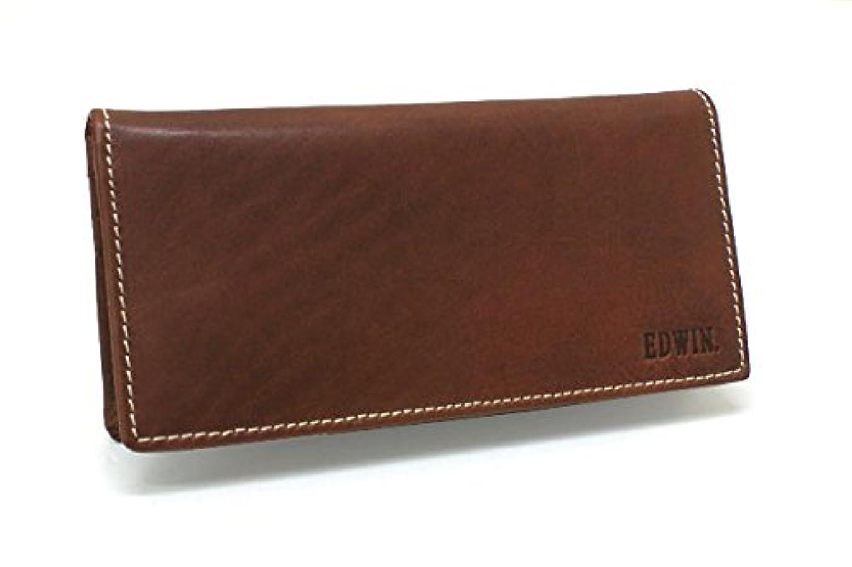 懺悔乱れ反対するEDWIN(エドウィン)メンズ 長財布(札入 ファスナー) 510429