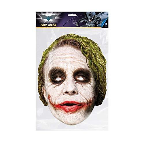 BATMAN Single-Size Dress-Up Mask with Joker Design - Rubie'S Spain 36671