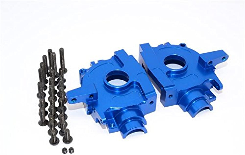 Axial Yeti (AX90026) & Yeti SCORE (AX90050) Upgrade Parts Aluminum Front Bulkhead  1 Set bluee